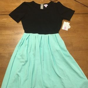 Lularoe M Amelia dress